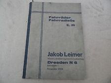 Catálogo De Bicicletas Jakob Lakra Dresden Radsonne Impex Balaco