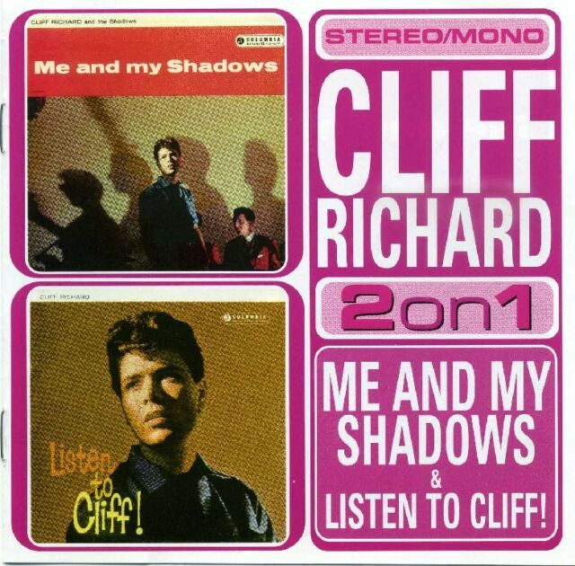 Cliff Richard - Me and my Shadows & Listen to Cliff # 2on1 # EMI Records #