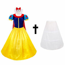 DFYM Halloween Snow White Princess Cosplay Costume Fairytale Party Ball Gown:S
