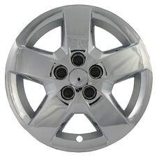 "Chevy HHR 1 Piece Steel Wheel Bolt On CHROME 16"" Hub Caps 5 Spoke A/M Skin Cover"
