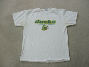VINTAGE-Oregon-Ducks-Shirt-Adult-Medium-White-Green-Donald-Duck-Mens-90s