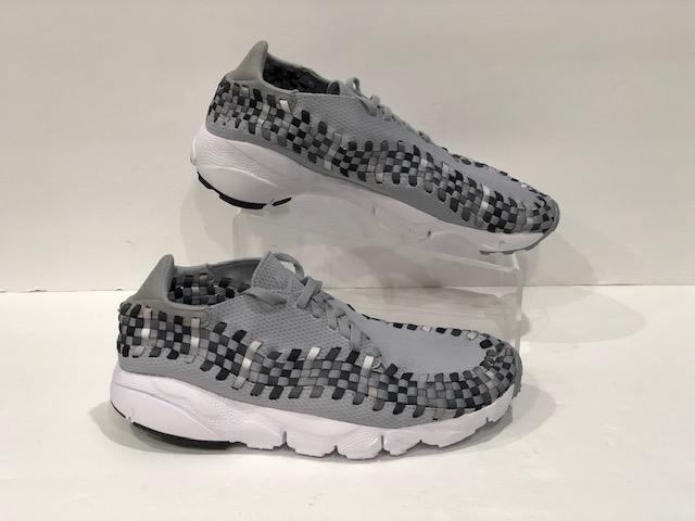 371d854ec0 Air Footscape NM Wolf Grey Black-Dark Grey 875797-004 Nike Woven ...