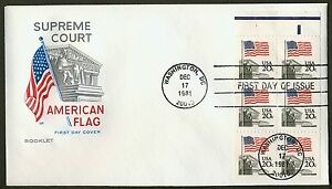 #1896a 20c Bandera Sobre Supreme Court W / Orillo, HF FDC Cualquier 4=