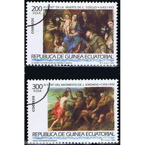 Briefmarken Äquatorial-guinea Edifil 162/163 Lackmuster-Überladung Afrika