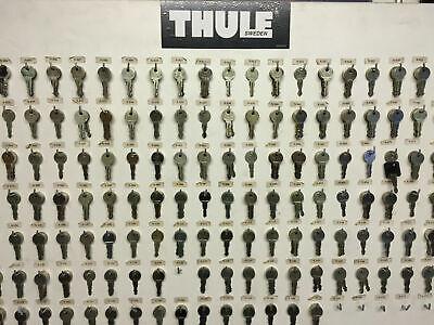 Thule Ersatzschlüssel Schloß Stahl Premium Nummern N151-N199 für Thule Artikel