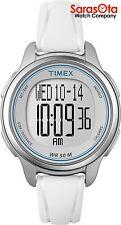 Timex T5K637 Digital White Resin Step's Distance Calories Sport Women's Watch