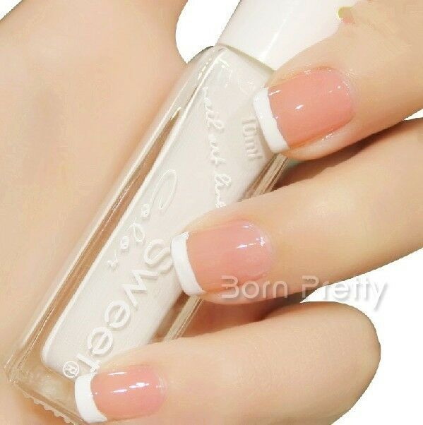 10ml Pure White Liner Nail Polish French Nail Tips Manicure ...
