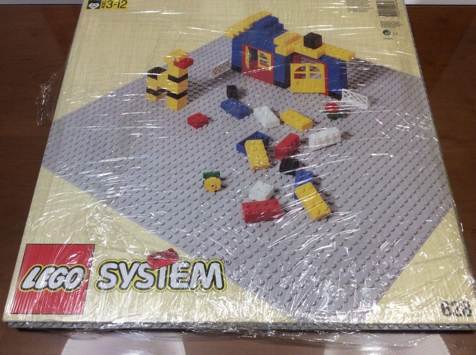 LEGO SYSTEM 628 BUILDING 4 X BASE BASEPLATE RARE VINTAGE 1996