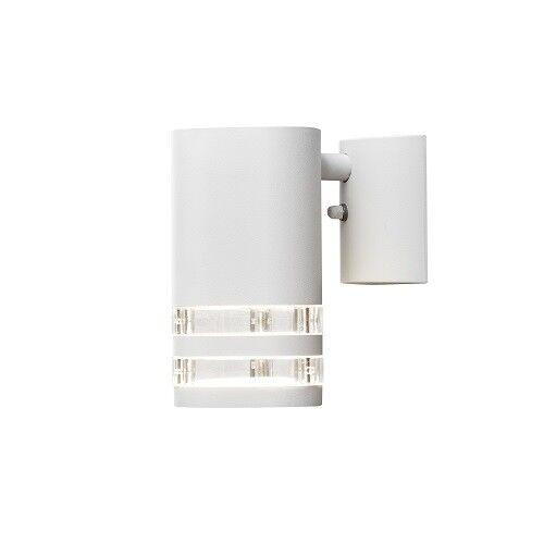 Muro in alluminio Lampada Modena BIG BIANCO ESTERNO FARETTO SPOT Konstsmide 7515-250