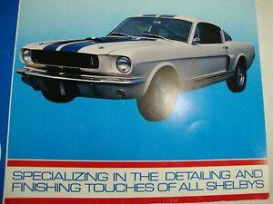 1966 Ford Mustang Parts Catalog