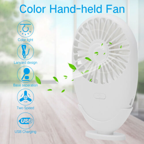 Portable Air Conditioner,Mini Cooling Air Fan,Wind Adjust Cooler,USB Night Light