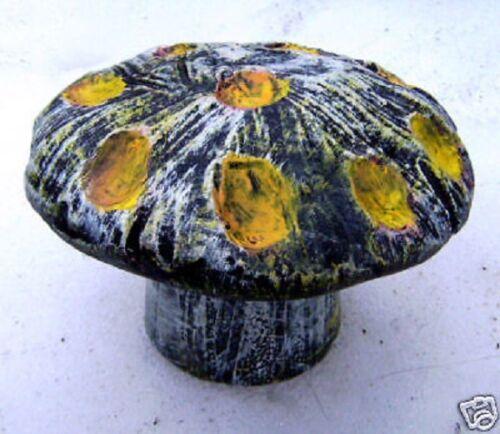 2 piece mushroom mold reusable casting plaster concrete resin casting mould