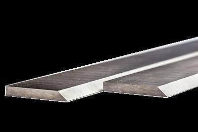 2 Stück Hobelmesser 310 x 30 x 3 mm HSS /%18 Wolfram Streifenhobelmesser