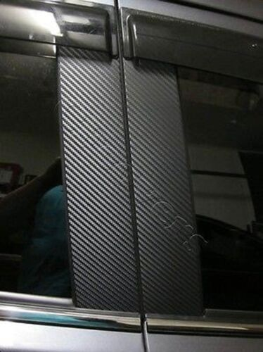 CARBON FIBER Di-Noc Pillar Posts for Mitsubishi Outlander non-Sport 03-06 6pc