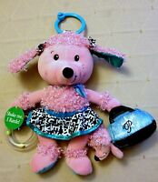 Lola The Poodle In Pink By Infantino Soft Curls For Baby To Touch No Box