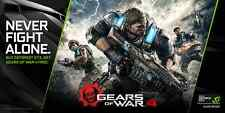Gears of War 4 - Xbox One / Windows 10 PC / Download Code (Nvidia) / NEU EU DE