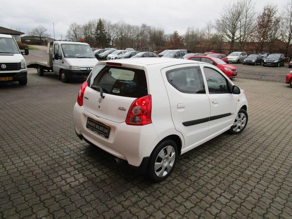 Suzuki Alto 1,0 GL Benzin modelår 2012 km 55000 Hvid nysynet