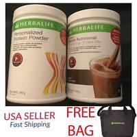 1 Herbalife Formula1 Nutritional Shake+personalized Protein Powder + Free Bag Us