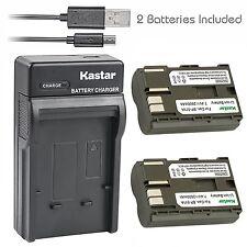 2x Batteria Patona 7,4V 1300mAh per Canon EOS-1D,1D,EOS-5D,5D,EOS-20D,20D