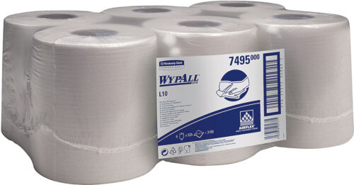 Airflex® 6 x 525 Tücher 1lagig L10 18,5 x... auf Rolle WYPALL* Wischtuch