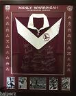 Blazed In Glory - Manly Sea Eagles Legends - NRL Signed & Framed Jersey
