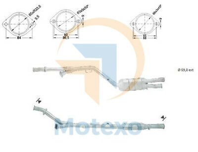 Catalytic Converter MERCEDES S500 320 bhp W140 4//91/>8//98