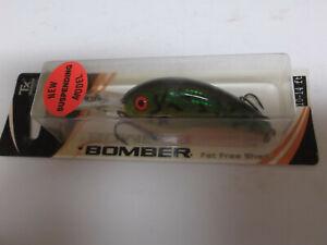 Details about Bomber Excalibur Bill Dance Suspend Fat Free Shad  Jr,BSD6F,Fire Tiger