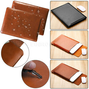 For-MacBook-Air-11-12-Pro-13-15-Retina-Leather-Laptop-Sleeve-Bag-Case-Cover-New
