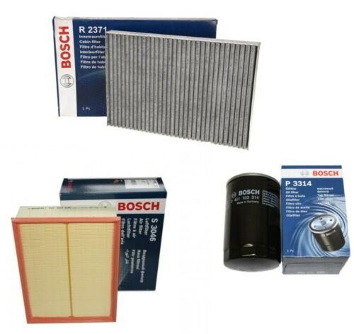 Bosch D/'inspection Filtre de paquets kit b7 8e b6 1.6 2.0 charbon actif audi a4 ,
