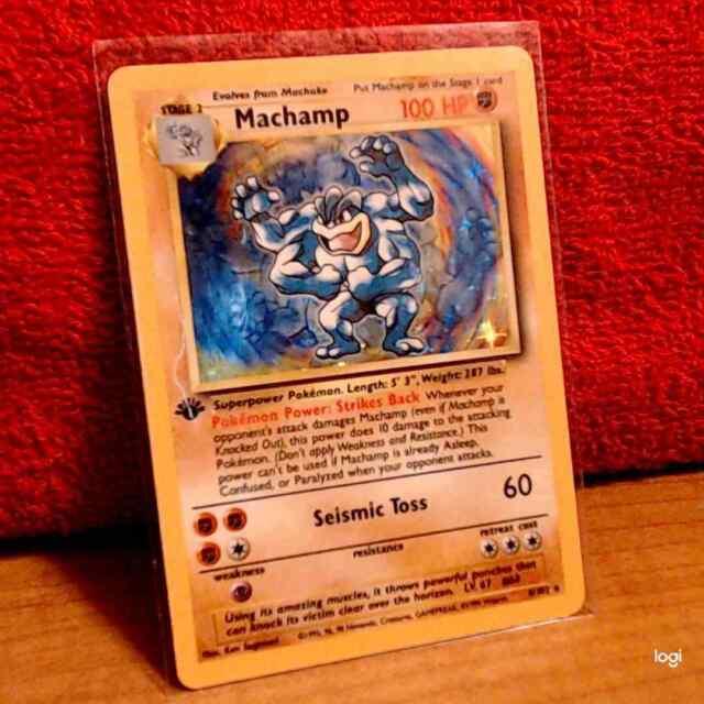machamp 1st edition card value