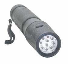 10 White Light LED SUPER BRIGHT Water-proof Flashlight 3 D Size Battery 3D NEW !