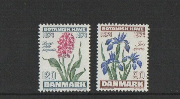 1974 Danemark Jardins Botaniques