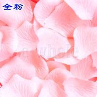 500 Pink Silk Rose Petals Table Flower Decoration Wedding Celebration BE
