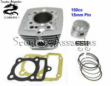 150cc BIG BORE CYLINDER KIT for 156FMI 157FMI 15mm piston pin Version