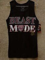 187 Inc Women Tank beast Mode -- Color Black/pink