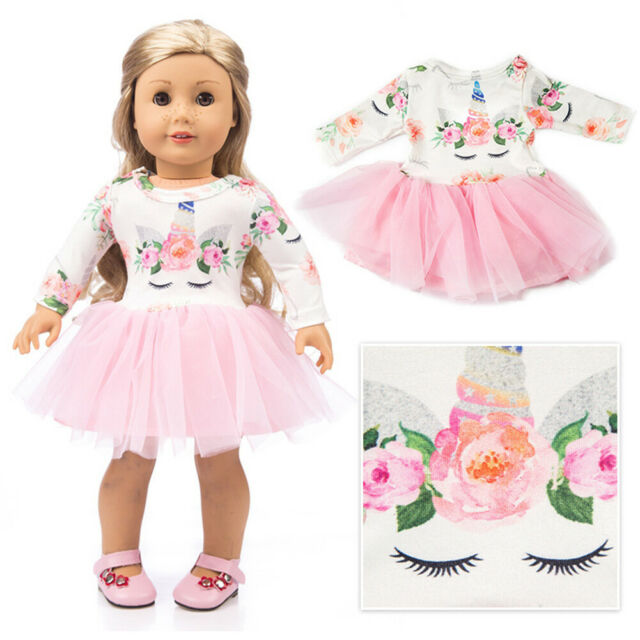 Doll Clothes Dress Xmas Outfits Pajames For 18 inch US Girl Our Generation