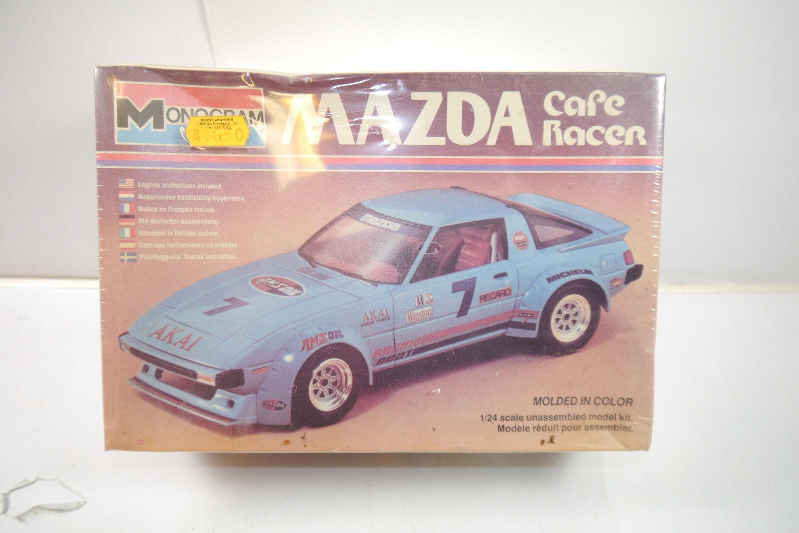 Monogram Monogram Monogram Mazda Cafe Racer Auto Escultura Modelo de Construcción 1 24 0b225a