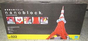 Tokyo Tower Deluxe Edition Nanoblock Miniature Building Blocks New NB 022