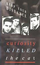 CURIOSITY KILLED THE CAT Keep Your Distance 1987 MERCURY SYNTH POP CASSETTE NICE