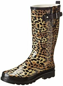 67623e83812e NEW! Western Chief for Target Leopard Print Rain Boot / Rainboots ...