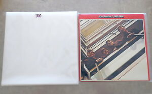 100x-12-034-Vinyl-LP-LDPE-Poly-Outer-Sleeves-fit-most-Gatefolds-Plastic-Cover-NEW