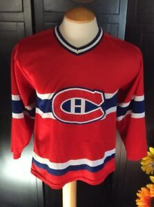 Montreal-Canadien-Jersey-CCM-MASKA-Size-Small-Men-039-s