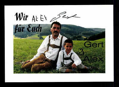 Musik Gert Und Alex Autogrammkarte Original Signiert ## Bc 67298 Kunden Zuerst