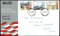 FDC - G.B. 1971 Ulster '71 Paintings - First Day Cover