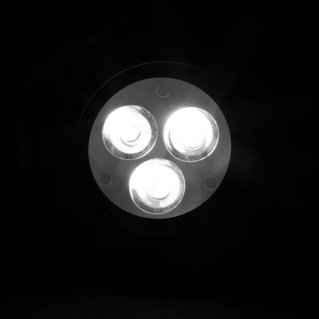 3X1W CREE Dimmable LED Ceiling Light Cabinet Recessed Down Lamp Bulb with Driver
