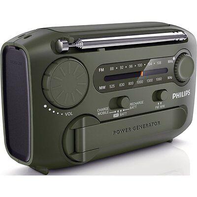 Philips Self Powered Radio