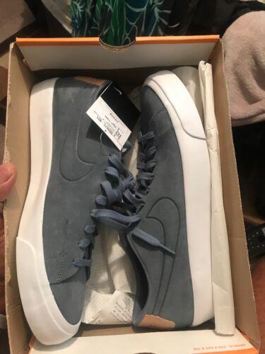 Chaussures Blazer 401 880872 Daim Nike Nouveau Low Studio Hommes 12 Bleu YF5qw