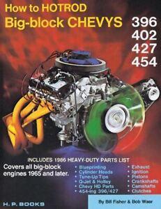 How-To-Hot-Rod-Big-Block-Chevys-396-402-427-454-Book-Manual