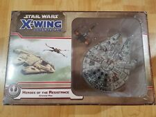 Heroes of the Resistance Star Wars miniatures X-Wing Fantasy Flight SWX57