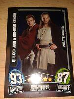 Force Attax Star Wars Serie Movie 3 Zusatz-Power 199 Jinn & Kenobi Sammelkarte